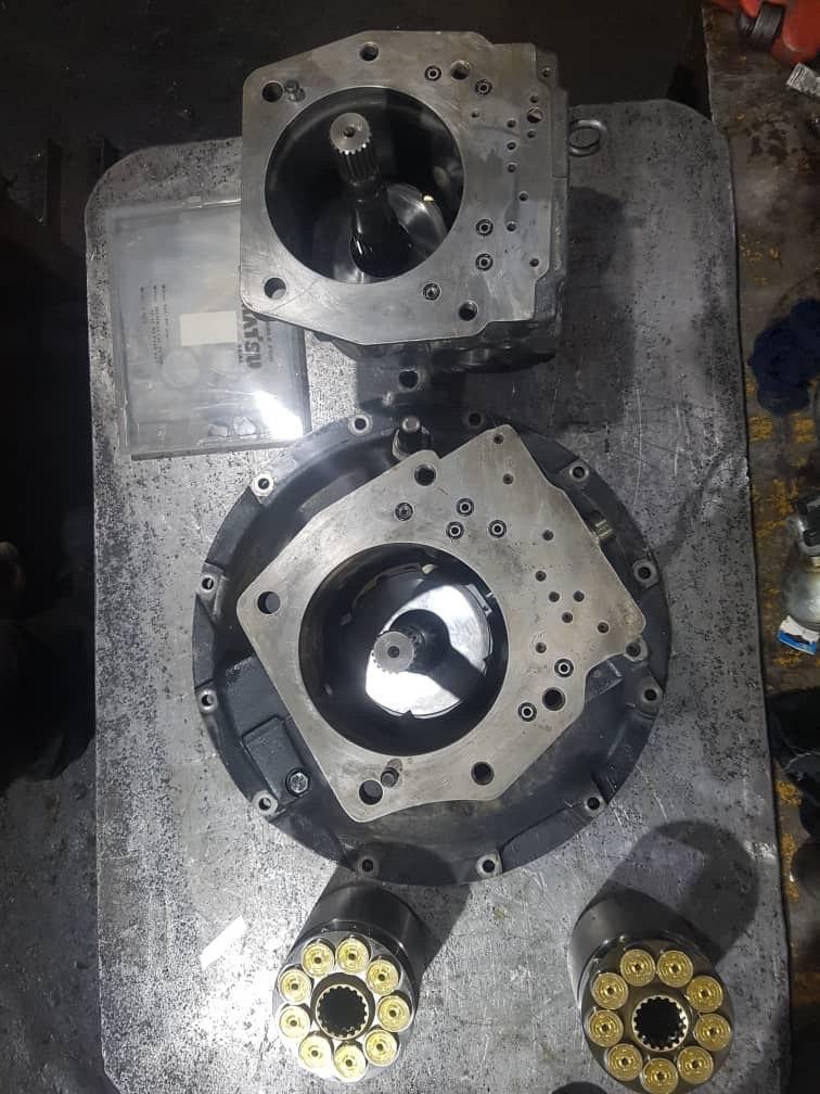 تعمیر پمپ هیدرولیک كوماتسوpc220-7